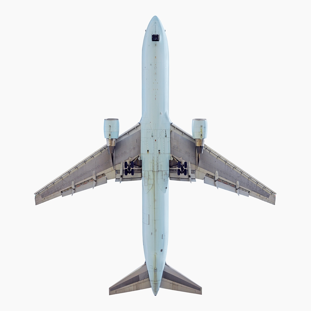 "Jeffrey Milstein<br /> <em>Air Canada Boeing 767 - 300, </em>2007<br /> Archival pigment prints<br /> 20 x 20""    Edition of 15<br /> 34 x 34""    Edition of 10<br /> Some Aircraft images can be up to 40 x 40"""