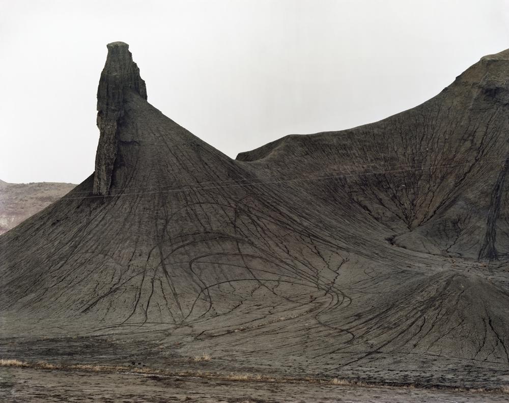 "Laura McPhee<br /> <em>Badlands, Cretaceous Mancos Sea, Near Caineville, Utah, </em>2010<br /> Archival Pigment Ink Prints<br /> 30 x 40""  Edition of 5<br /> 40 x 50""  Edition of 5<br /> 50 x 60""  Edition of 5<br /> 60 x 75""  Edition of 5"