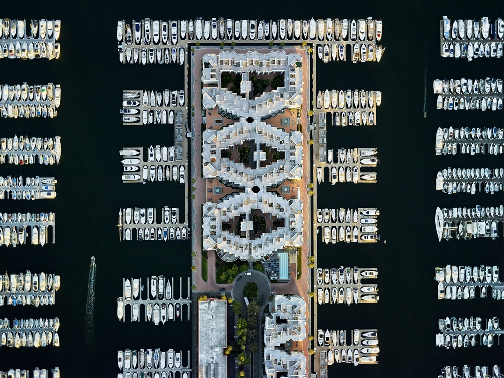 "Jeffrey Milstein<br /> <i>LA Marina 01, 2014</i><br /> Archival pigment prints<br /> 30 x 40"" and 36 x 48"", shared edition of 10 (Plus 2AP)<br /> 40.5 x 54"", 45 x 60"", 48 x 64"", 52.5 x 70"", shared edition of 10 (Plus 2AP) <br /> <br />"