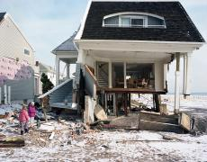 """Susannah Ray<br /> <em>Stuffed Dog Rescue, Belle Harbor, NY, January</em>, 2013<br /> Digital C-Prints<br /> 24 x 30""""  Edition of 10<br /> 40 x 50""""  Edition of 5"""