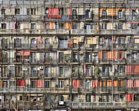 "Stèphane Couturier<br /> <em>Barcelone, Parallel no. 2, 2008 </em><br /> Chromogenic prints<br /> 39 x 54""    Edition of 5<br /> 71 x 97""    Edition of 5"