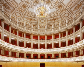 "Doug Hall<br /> <em>Teatro della Fortuna Fano 2, </em>2002<br /> Archival pigment print<br /> 62 X 50""  Edition of 6"