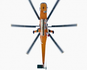"Jeffrey Milstein<br /> <em>Sikorsky SK-64E Helicopter, </em>2008<br /> Archival pigment prints<br /> 20 x 20""    Edition of 15<br /> 34 x 34""    Edition of 10<br /> Some Aircraft images can be up to 40 x 40"""