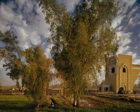 "Simon Norfolk<br /> <em>The North Gate of Baghdad, </em>2003<br /> Digital chromogenic prints<br /> 20 x 24""    Edition of 10 (plus 3 APs)<br /> 40 x 50""    Edition of 10 (plus 3 APs)"