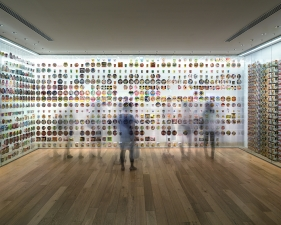 "Matthew Pillsbury<br /> <em>Cup Noodles Museum, Yokohama, </em>2014 (TV14623)<br /> Archival pigment ink prints<br /> 20 x 24""    Edition of 10<br /> 30 x 40""    Edition of 6 (plus 2 APs)<br /> 50 x 60""    Edition of 2 (plus 1 AP)"