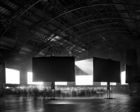 """Matthew Pillsbury<br /> <em>Time Capsule, Park Ave Armory, Monday, September 12th</em>, <em>2011</em><br /> Archival pigment ink prints<br /> 13 x 19""""  Edition of 20<br /> 30 x 40""""  Edition of 10<br /> 50 x 60""""  Edition of 3"""