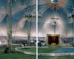 "Richard Renaldi<br /> <em>The Big Top, Geneva, Ohio, </em>2012<br /> Archival pigment prints<br /> 36 x 55""    Edition of 4 (plus 2 APs)<br /> 59 x 90""    Edition of 3 (plus 2 APs)"