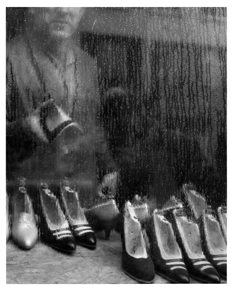 "Sabine Weiss<br /> <em>Paris, 1955</em><br /> Silver gelatin print<br /> 16 x 12""  Open edition<br /> 20 x 16""  Open edition"