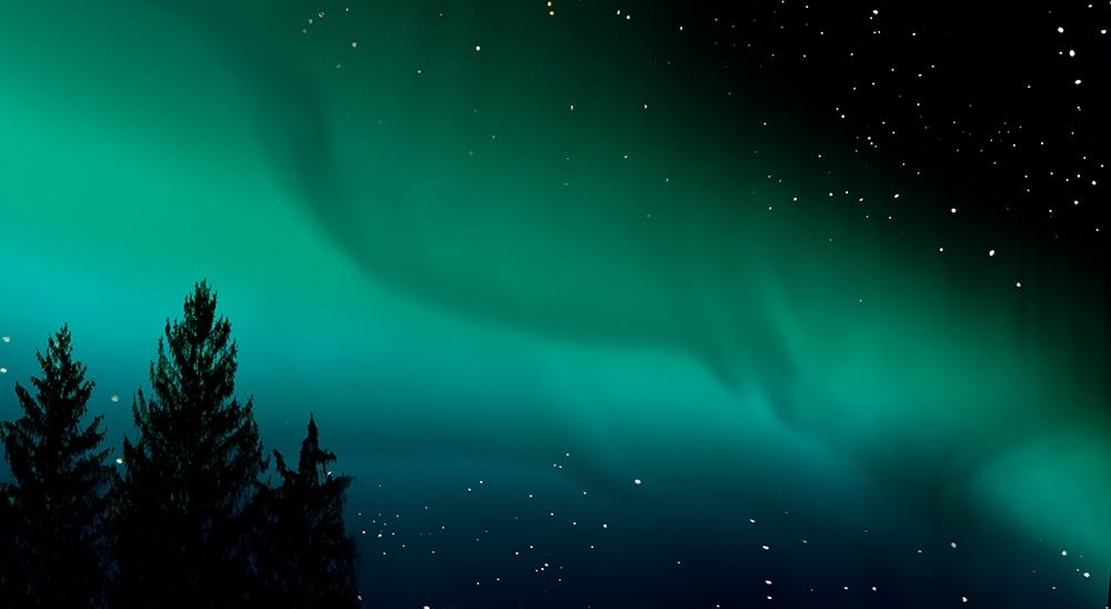 """Matthew Albanese<br /> <em>Aurora Borealis</em><br /> Digital C print<br /> 20 x 36"""" Edition of 10<br /> <br />"""