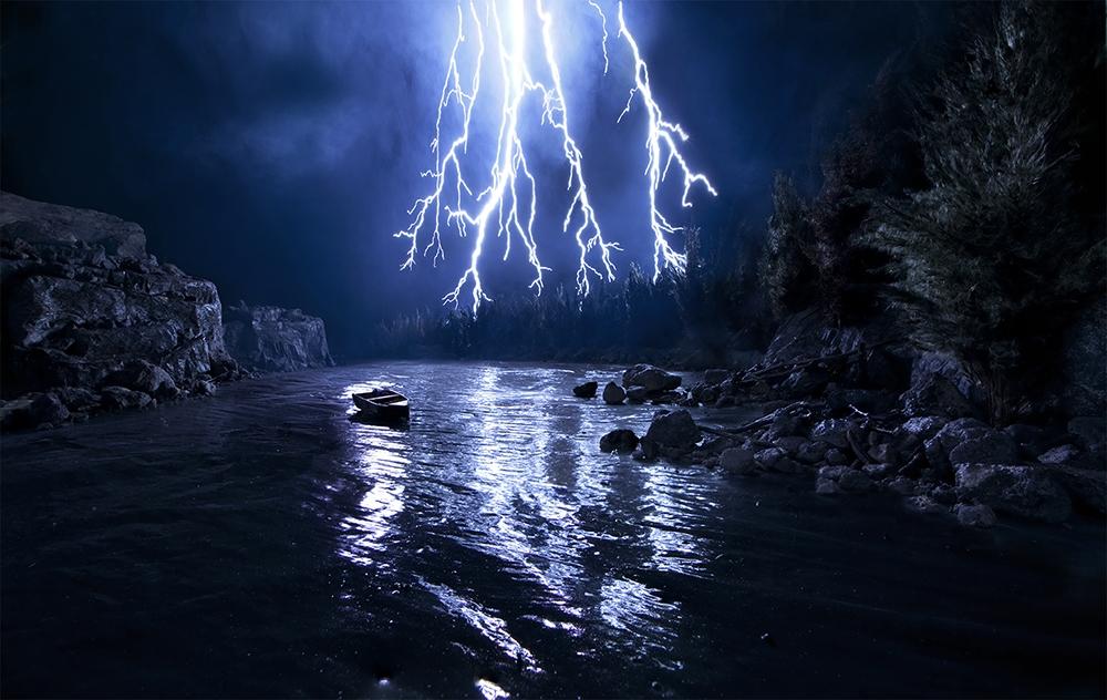 "Matthew Albanese<br /> <em>Box of Lightning, </em>2013<br /> Digital C print<br /> 19 x 30""   Edition of 5<br /> 38 x 60""  Edition of 10"