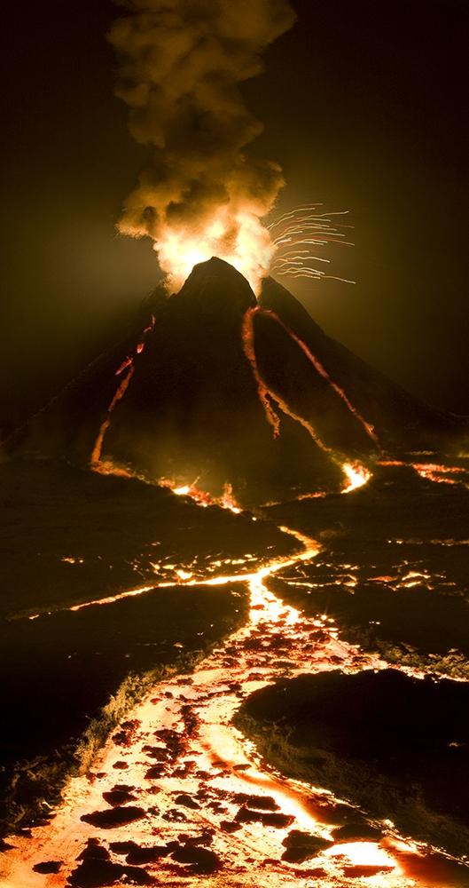 "Matthew Albanese<br /> <em>Volcano</em><br /> Digital C print<br /> 40 x 21"" Edition of 10<br /> <br />"