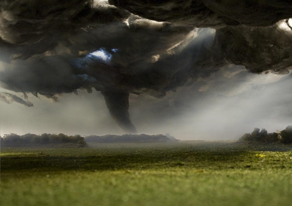 """Matthew Albanese<br /> <em>Tornado</em><br /> Digital C print<br /> 20 x 30""""  Edition of 10<br /> 30 x 40""""  Edition of 5"""