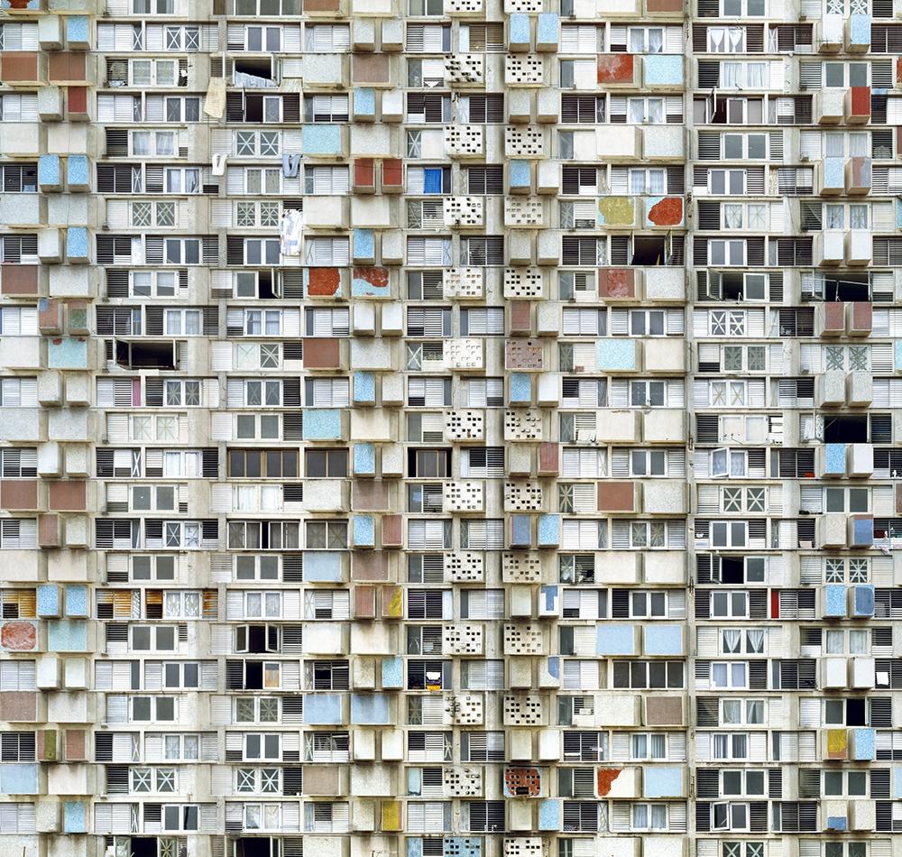 "Stèphane Couturier<br /> <em>La Havane, 2006/2007, Giron Building Photo no. 2</em><br /> Chromogenic prints<br /> 39 x 41""  Edition of 5<br /> 71 x 74""  Edition of 5"