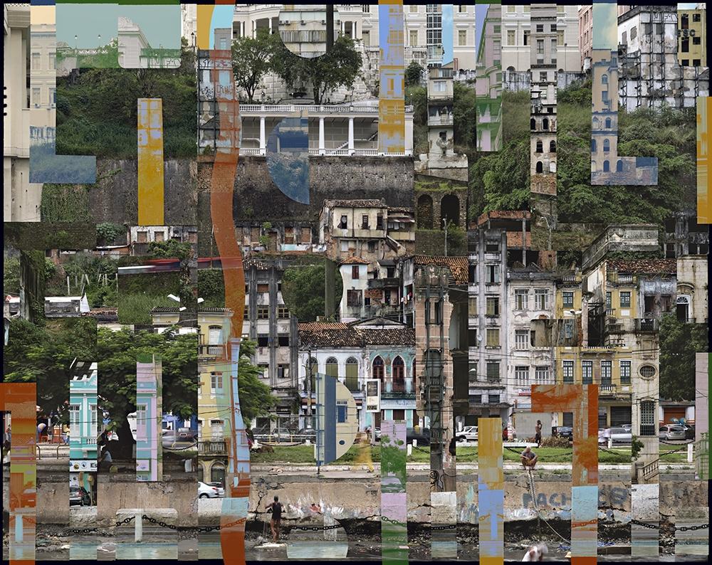 """Stèphane Couturier<br /> <em>Salvador da Bahia, 2011/2012- Photo no. 2</em><br /> Chromogenic prints<br /> 39 x 50""""  Edition of 5<br /> 71 x 89""""  Edition of 5"""