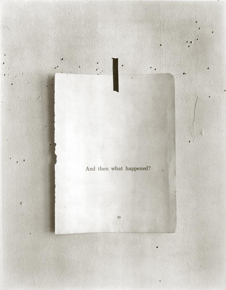 "Jed Devine<br /> <em>Untitled, 2000 - 2002</em><br /> Platinum-palladium print on Japanese rice paper<br /> 14 x 11"""
