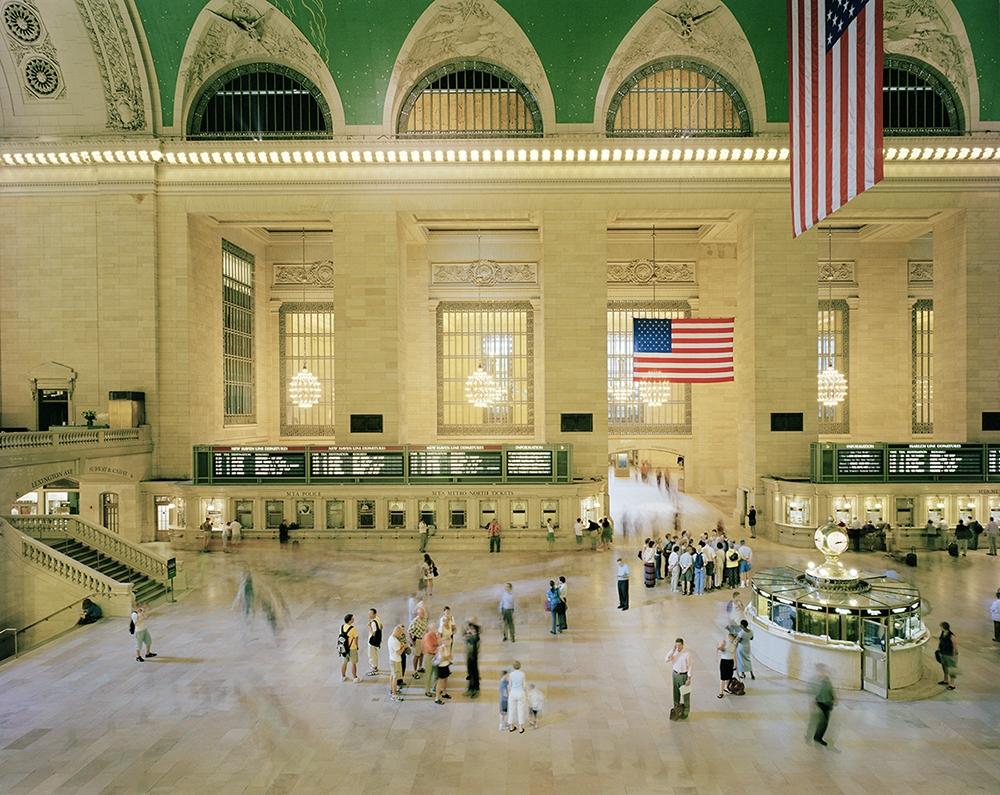 """Doug Hall<br /> <em>Grand Central Terminal, </em>2004<br /> Chromogenic prints<br /> 26.25 x 31.5""""  Edition of 10"""