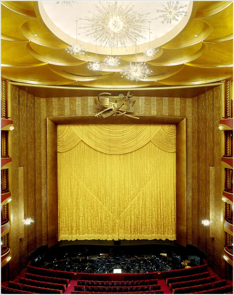 "Doug Hall<br /> <em>Metropolitan Opera, NY, </em>2002<br /> Chromogenic prints<br /> 60.5 x 48""  Edition of 6"