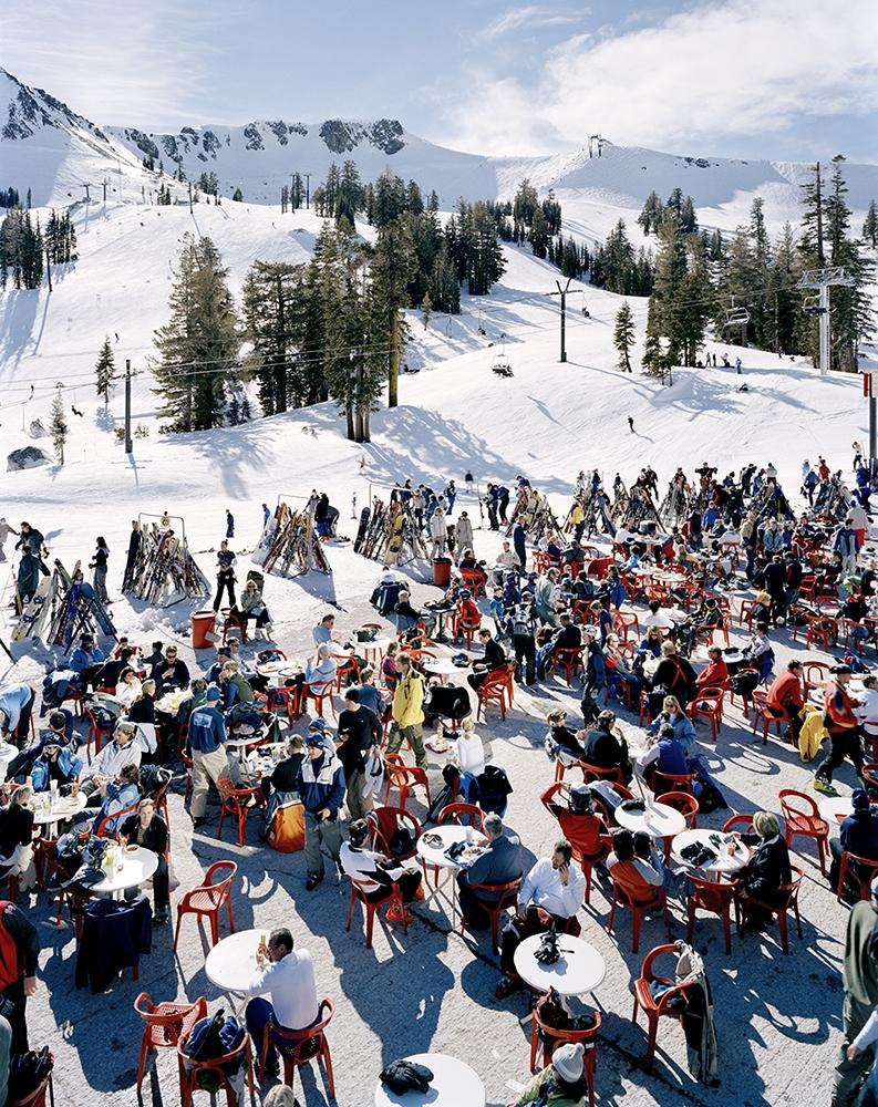 "Doug Hall<br /> <em>Squaw Valley, </em>2004<br /> Chromogenic prints<br /> 60.5 x 48""  Edition of 6"