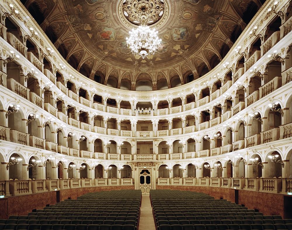 """Doug Hall<br /> <em>Teatro Comunale di Bologna</em>, 2002<br /> Archival pigment print<br /> 48 x 61""""  Edition of 6"""