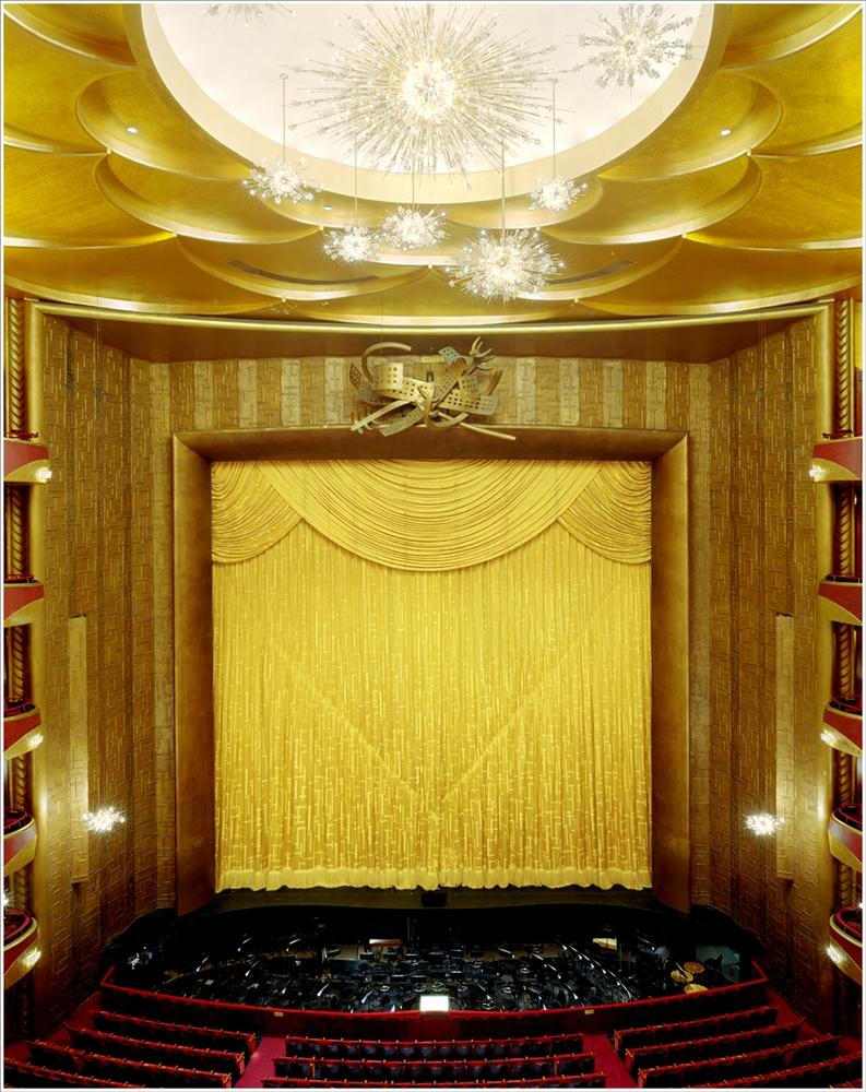 "Doug Hall<br /> <em>Metropolitan Opera, NY</em>, 2002<br /> Archival pigment print<br /> 62 x 48""  Edition of 6"