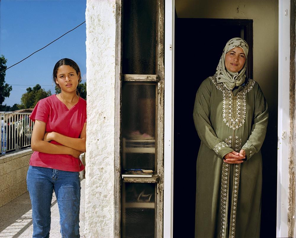 "Gillian Laub<br /> <em>Masadi with her daughter,Fureidis, Isreal, July 2002</em><br /> Chromogenic prints<br /> 20 x 24""  Edition of 8<br /> 30 x 40""  Edition of 5<br /> 40 x 50""  Edition of 3"