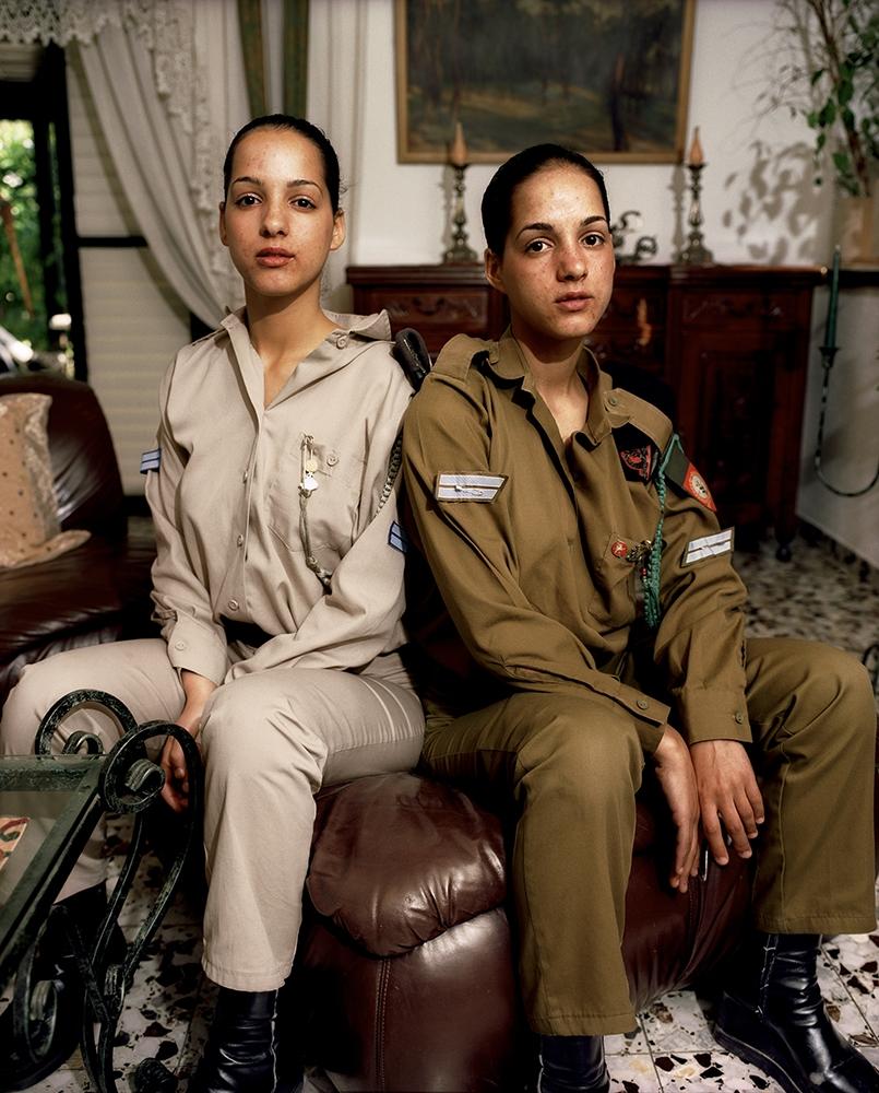 "Gillian Laub<br /> <em>Tal and Moran,Tel Aviv, Isreal, May, 2002</em><br /> Chromogenic prints<br /> 24 x 20""  Edition of 8<br /> 40 x 30""  Edition of 5<br /> 50 x 40""  Edition of 3"
