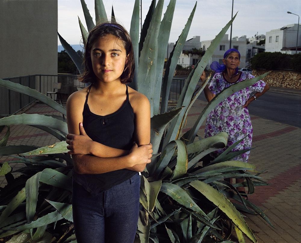 "Gillian Laub<br /> <em>Maryanna, Safed, Israel, October, 2002</em><br /> Chromogenic prints<br /> 20 x 24""  Edition of 8<br /> 30 x 40""  Edition of 5<br /> 40 x 50""  Edition of 3"