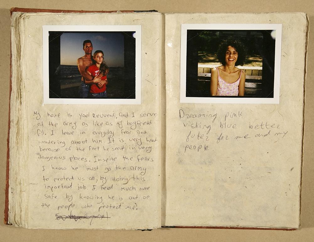 "Gillian Laub<br /> <em>Testimony Journal #11, </em>2002<br /> Chromogenic prints<br /> 20 x 24""  Edition of 8<br /> 30 x 40""  Edition of 5<br /> 40 x 50""  Edition of 3"