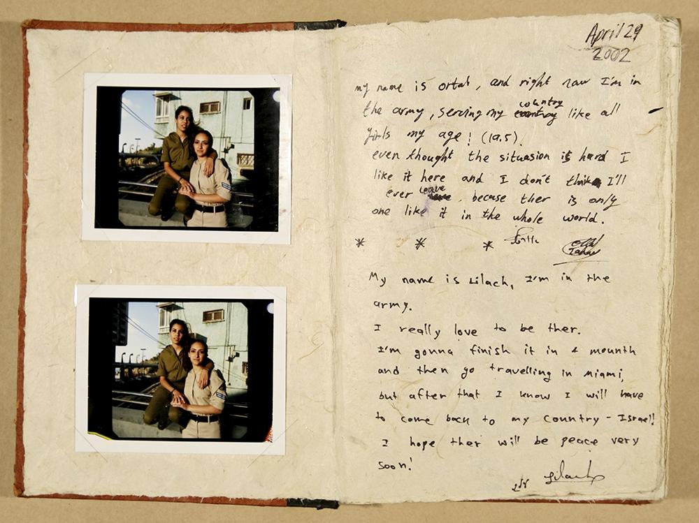 "Gillian Laub<br /> Testimony Journal #2,2002<br /> Chromogenic prints<br /> 20 x 24""  Edition of 8<br /> 30 x 40""  Edition of 5<br /> 40 x 50""  Edition of 3"