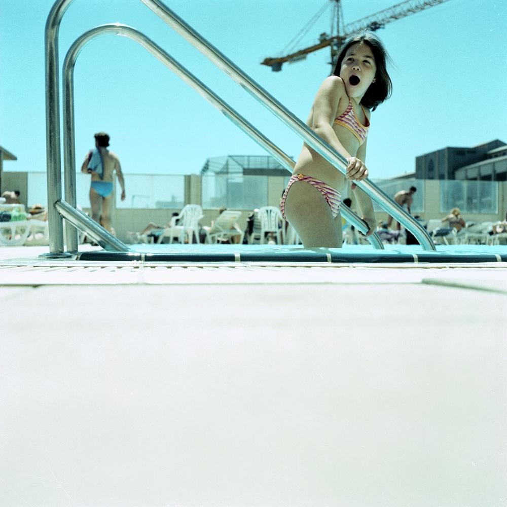 "Karine Laval<br /> <em>Untitled #3, Barcelona, Spain</em>, 2002<br /> Chromogenic print<br /> 20 x 20""  Edition of 15<br /> 30 x 30""  Edition of 9"