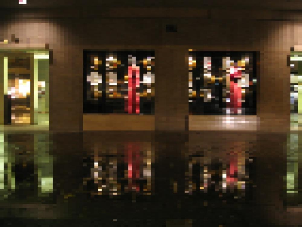 "Jonathan Lewis<br /> <em>Gucci, </em>2009<br /> Chromogenic print<br /> 24 x 32""  Edition of 10"