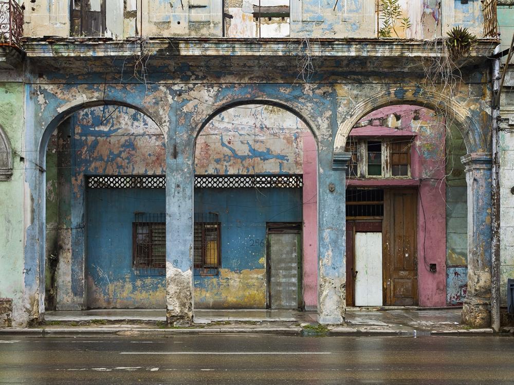 "Jeffrey Milstein<br /> <em>Havana Centro Number 256, Avenida Simon Bolivar, </em>2009<br /> Archival pigment prints<br /> 30 x 40""  Edition of 8<br /> 42 x 56""  Edition of 5"