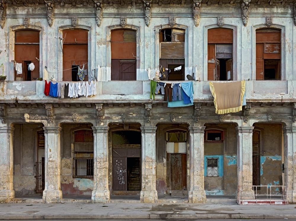 "Jeffrey Milstein<br /> <em>Malecon 57, Havana Centro, </em>2009<br /> Archival pigment prints<br /> 16 x 24""  Edition of 15<br /> 30 x 40""  Edition of 8"