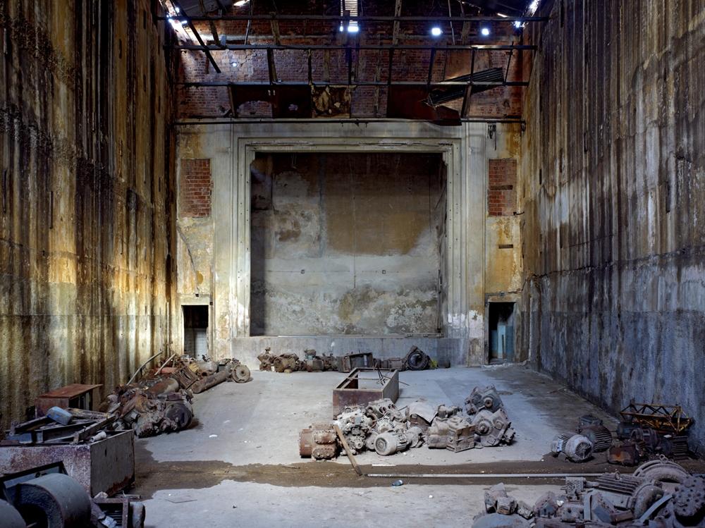 "Jeffrey Milstein<br /> <em>Theatre, Havana Centro, </em>2009<br /> Archival pigment prints<br /> 30 x 40""  Edition of 8<br /> 42 x 56""  Edition of 5"