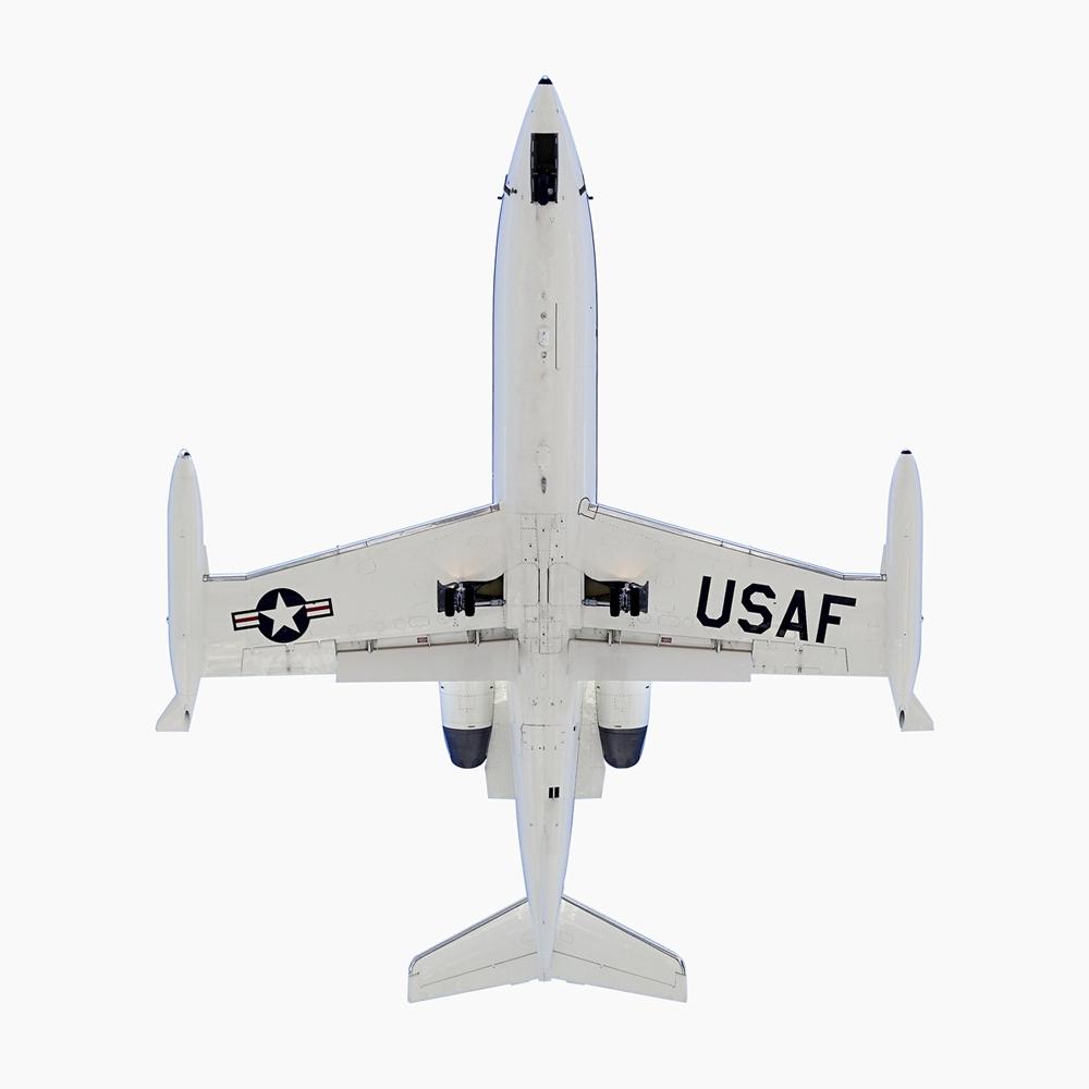 "Jeffrey Milstein<br /> <em>USAF Learjet C-21A</em><br /> Archival pigment prints<br /> 20 x 20""  Edition of 15<br /> 34 x 34""  Edition of 10<br />"