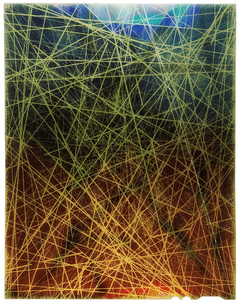 "Rey Parlá<br /> <i>Kinetic Lumino #5</i>, 2017<br /> C-print (unique)<br /> 20 x 17"""