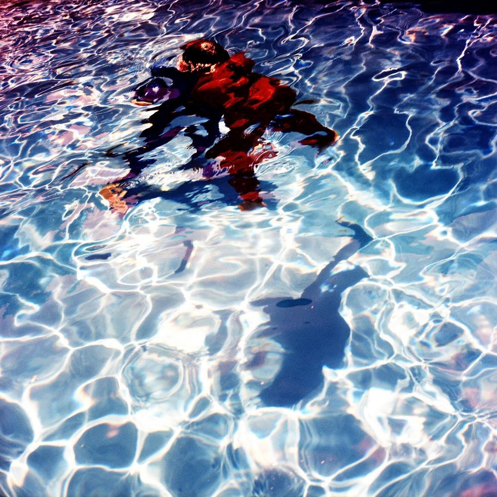 """Karine Laval<br /> <em>Poolscape #60</em>, 2010<br /> Chromogenic print<br /> 20 x 20""""  Edition of 15<br /> 30 x 30""""  Edition of 9<br /> 50 x 50""""  Edition of 5"""