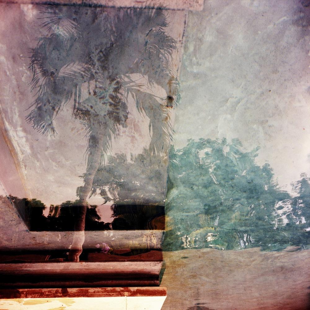 """Karine Laval<br /> <em>Poolscape #80</em>, 2010<br /> Chromogenic print<br /> 20 x 20""""  Edition of 15<br /> 30 x 30""""  Edition of 9<br /> 50 x 50""""  Edition of 5"""