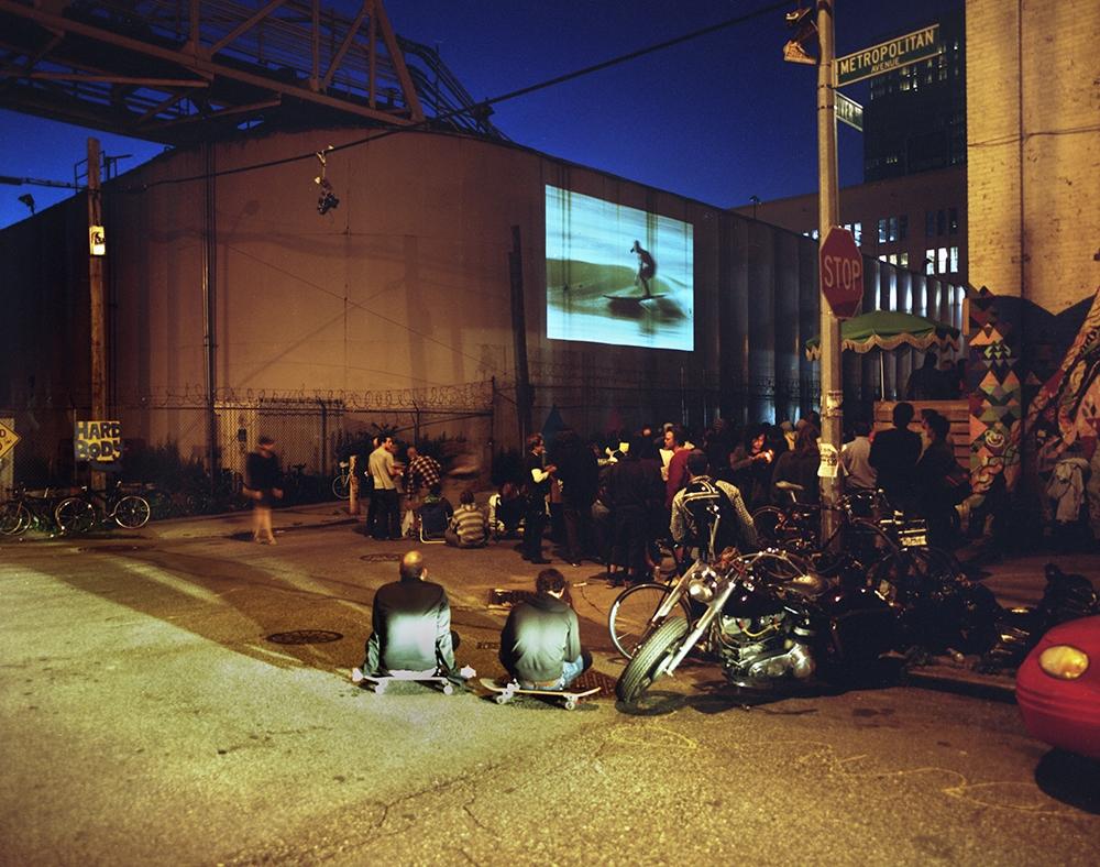 """Susannah Ray<br /> <em>Mollusk Movie Night</em>, 2009<br /> Digital C-prints<br /> 20 x 24""""  Edition of 7<br /> 40 x 50""""  Edition of 5"""