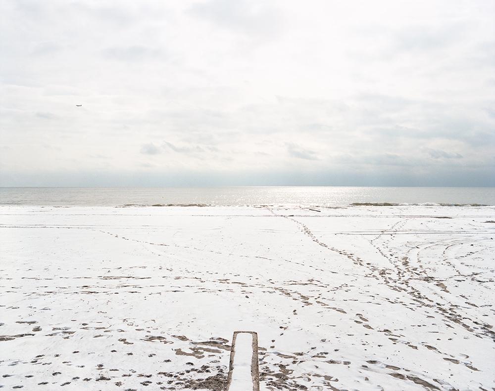 "Susannah Ray<br /> <em>View From Exposed Boardwalk Support, Januar</em><em>y</em>, 2013<br /> Digital C-Prints<br /> 24 x 30""  Edition of 10<br /> 40 x 50""  Edition of 5"