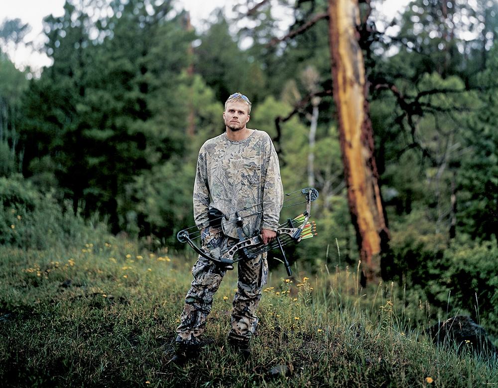 """Richard Renaldi<br /> <em>Jeff; Dixie National Forest, UT, </em>2004<br /> Archival Pigment Prints<br /> 20 x 24""""  Edition of 7 (plus 2 APs)<br /> 30 x 36""""  Edition of 4 (plus 2 APs)<br /> 50 x 60""""  Edition of 3 (plus 2 APs)"""