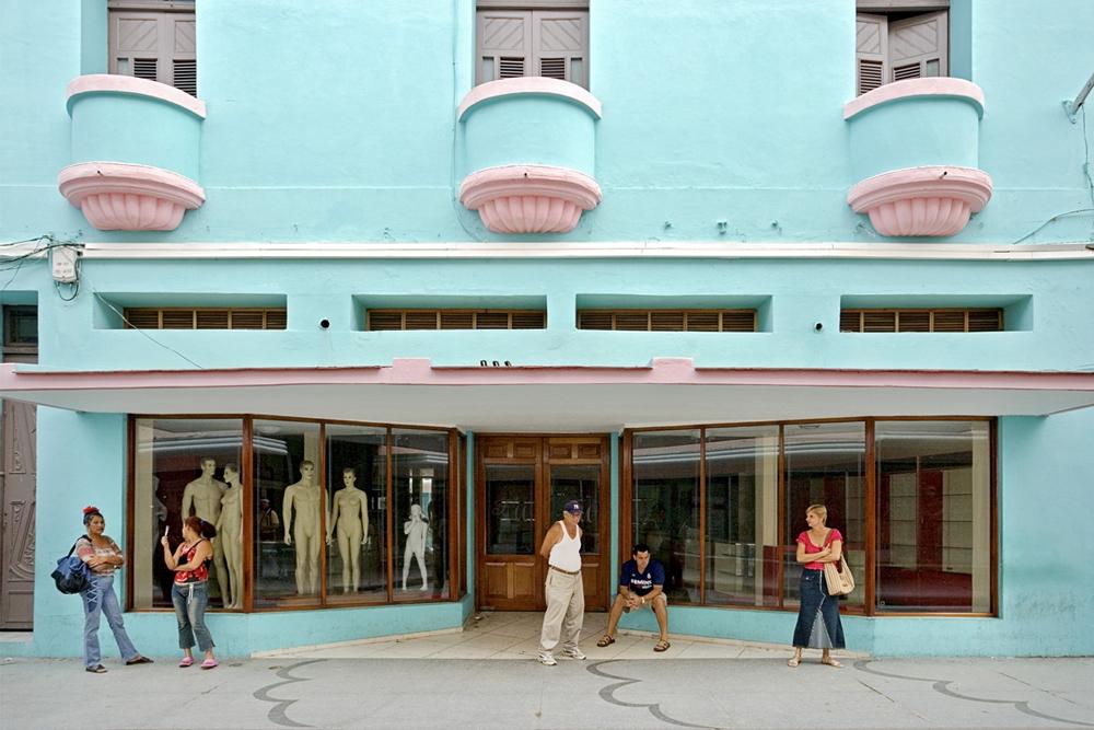 """Jeffrey Milstein<br /> <em>Tourquoise Store, Camaguey, Cuba, </em>2004<br /> Archival pigment prints<br /> 16 x 24""""  Edition of 15<br /> 22 x 33""""  Edition of 5"""