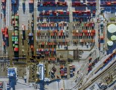 "Jeffrey Milstein<br /> <em>Container Port 27, </em>2014<br /> Archival pigment prints<br /> 30 x 40""  Edition of 10<br /> 40.5 x 54""  Edition of 10"