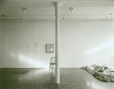 "Jed Devine<br /> <em>Untitled (ca. 1985)</em><br /> Platinum-palladium print on Japanese rice paper<br /> 8 x 10"""