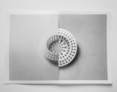 """Delphine Burtin<br /> <em>Untitled, Encouble series</em>, 2013<br /> Archival pigment print<br /> 17 x 23.5""""  Edition of 10 (plus 2 APs)"""