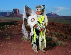 "Doug Hall<br /> <em>Monument Valley, </em>2008<br /> Archival pigment ink print<br /> 50 x 67""  Edition of 6"