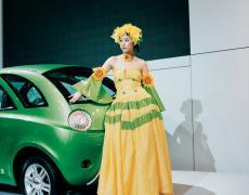 "Jacqueline Hassink<br /> <em>Chery girl 1, Shanghai Auto Shanghai 2005 Shanghai, China (April 21, 2005)</em><br /> Chromogenic prints<br /> 37.5 x 31""  Edition of 7<br /> 60 x 49""  Edition of 7"