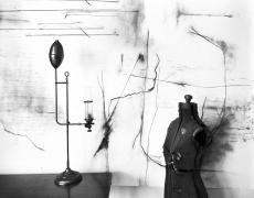 "Lauren Semivan<br /> <em>Lamp and Torso, </em>2014<br /> Archival ink print<br /> 24 x 30""  Edition of 10<br /> 40 x 50""  Edition of 5"