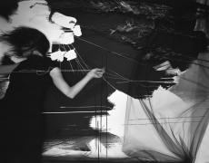 "Lauren Semivan<br /> <em>The Plumb Line</em>, 2014<br /> Archival ink print<br /> 24 x 30""  Edition of 10<br /> 40 x 50""  Edition of 5"