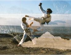 """The Family Acid<br /> <em>Karate Combat in La Jolla, December 1980</em><br /> Archival pigment ink prints<br /> 16 x 20""""  Edition of 8"""